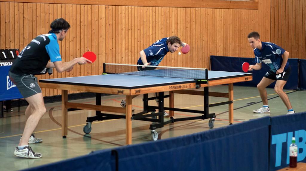 1. Herren Doppel 1 (Mark Simpson und Jakob Mund © Benjamin Bauer)