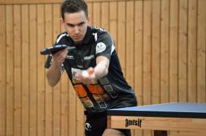Jakob Mund LTTV Leutzscher Füchse Tischtennis Regionalliga 2014