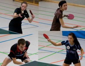 BEM-2010-Titelträger: oben Luise Böttger, Maja Meyer, unten Jakob Mund, Nadine Käbisch