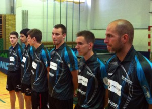 Oberliga-Herren 2011/2012 (vrnl. Ales Hanl, Jakob Mund, Michal Slesar, Max Fritsch, Sebastian Moavro, Emir Baca)