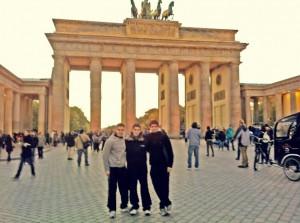 Jakob Mund, Emir Baca und Sebastian Moavro in Berlin
