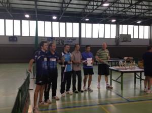 Die Überflieger der C-Klasse - Chris und Friedrich als überzeugende und strahlende Turniersieger. Glückwunsch auch an Johannes Kaube aus Böhlitz zum 2. Platz.
