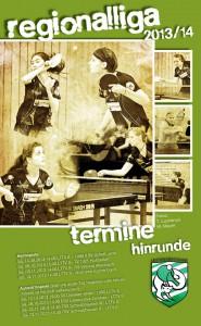 Plakat Damen2 13_14