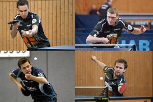 Regionalliga LTTV 2014-2015 (Jakob Mund, Michal Jirasek, Sven Hübner, Mark Simpson)