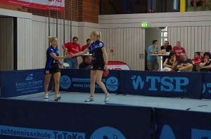 Mühlbach und Shavyrina klatschen zum Sieg ab ©LTTV_LW