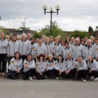 Das Deutsche Team von den TT-MM der Senioren 2013 ©Arnd Heymann
