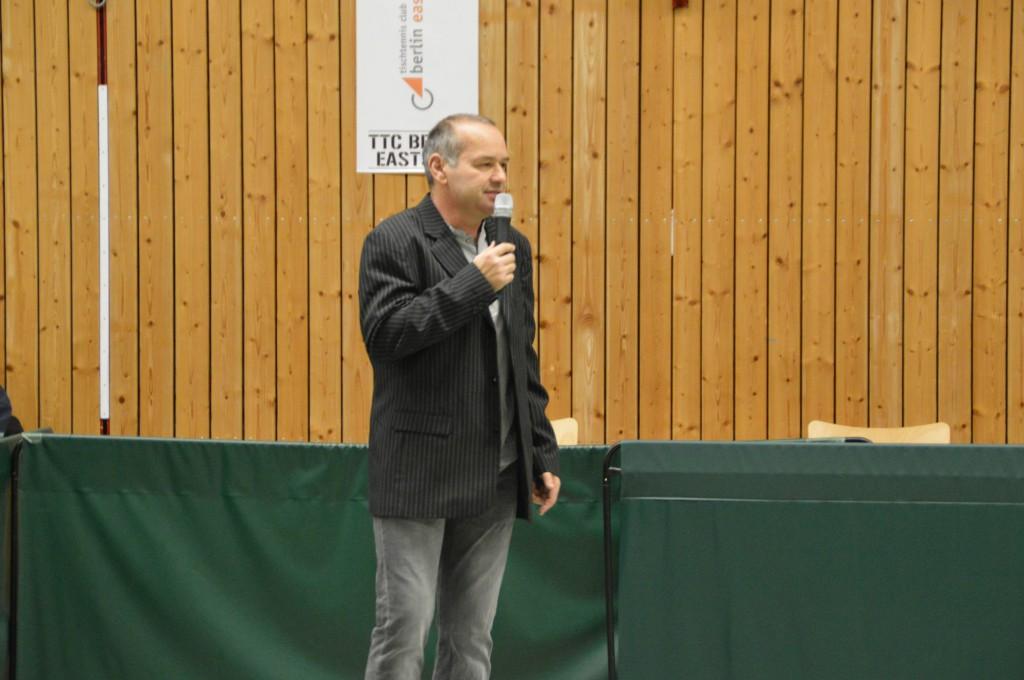 Peter Kraetsch, Vorsitzender TSV Graupa